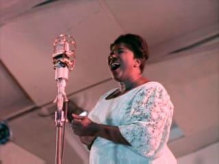Bert Stern's Jazz on a Summer's Day film still with singer