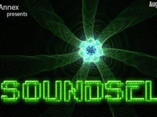 IndieCade Annex with Soundself banner