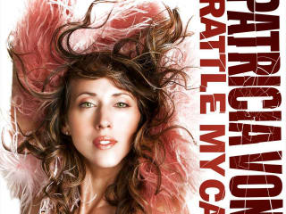 Patricia Vonne new album cover for Rattle My Cage