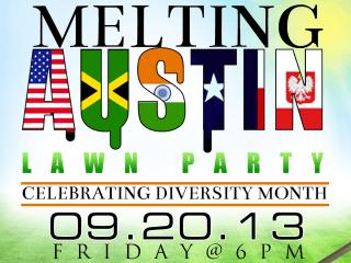 Melting Austin Lawn Party