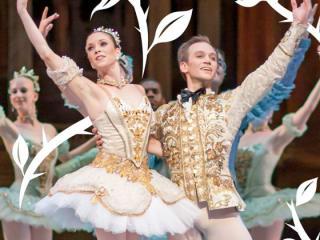 Ballet Austin dancers in Sleep Beauty