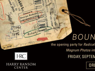 Boundless Harry Ransom Center 2013