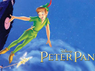 Poster image of Disney's Peter Pan