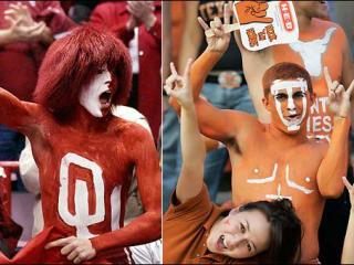 oklahoma texas fans