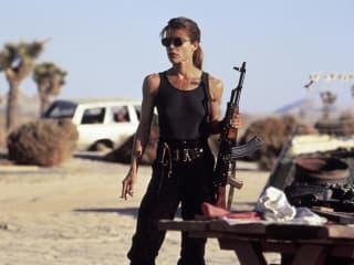 Linda Hamilton in Terminator 2: Judgment Day
