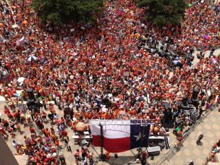 Stand with Texas Women Wendy Davis State Capitol protests
