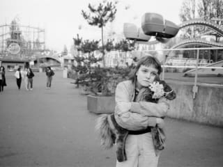 photo of homeless girl from the documentary Streetwise