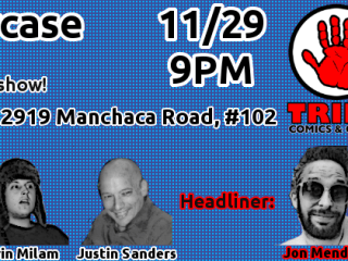banner for Alpha Test Comedy Showcase episode 4 the Quest for Peace