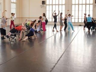 Body Shift class for Danceability for Forklift Danceworks