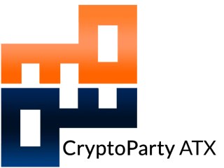 logo for CryptoParty ATX cryptography classes