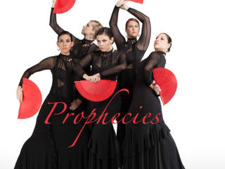 dancers from A'lante Flamenco performing Prophecies for the Long Center