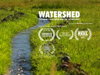 stream and title image for Watershed film