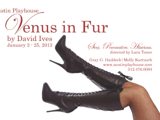 poster for Venus in Fur at Austin Playhouse