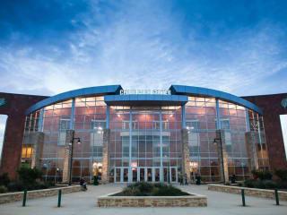 exterior of Cedar Park Center