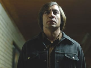 Javier Bardem as Anton Chigurh in No Country for Old Men