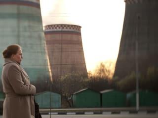 still from the Russian film Elena