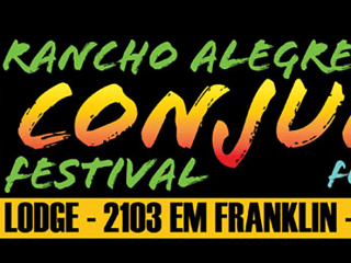 banner for the Rancho Alegre Conjunto Festival 2014