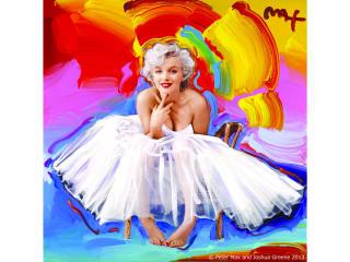 Peter Max Marilyn Monroe