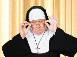 photo from play Late Nite Catechism with nun