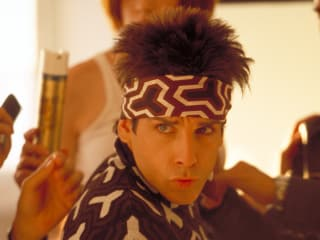 "Ben Stiller as Derek Zoolander giving ""Blue Steel"""