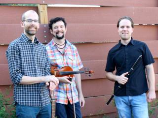 members of Aidan an Austin Irish ensemble