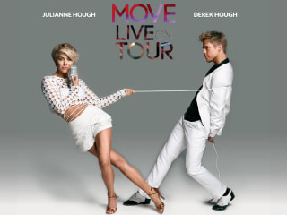 """Julianne and Derek Hough in performance """"Move Live on Tour"""""""