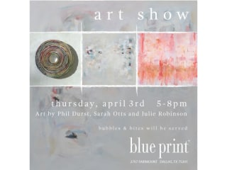 Blue Print Store Art Show