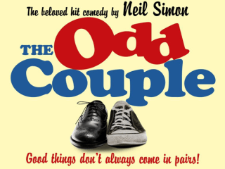 poster for the City Theatre Company's The Odd Couple