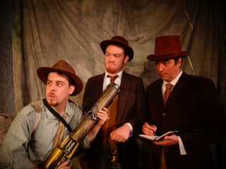 Pocket Sandwich Theatre presents Journey to the Center of the Earth
