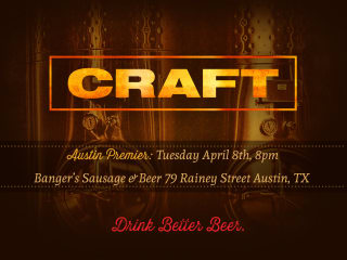 CRAFT beer documentary poster for Austin premiere
