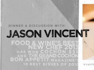 Indie Chefs Table featuring Jason Vincent