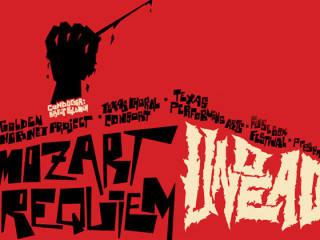 Poster for Fusebox Festival performance Mozart Requiem Undead