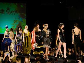 Austin Fashion Week runway Boudoir Queen at 2013 Austin Fashion Awards