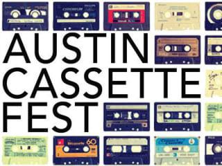 poster for Austin Cassette Fest at Mass Gallery