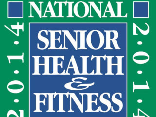 logo for 2014 National Senior Health and Fitness Day