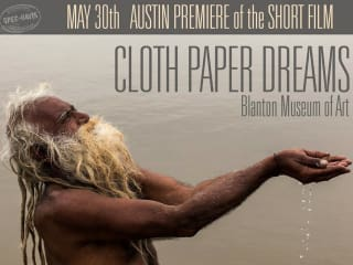 poster for Greg Davis film Cloth Paper Dreams premiere