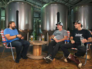 The Beer Diaries episode of Austin Beer Garden Brewing Co. with founders of ABGB