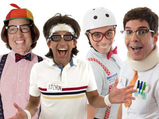The Spazmatics in concert