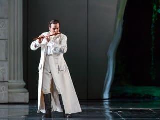 Houston Grand Opera HGO The Magic Flute January 2015 David Portillo as Tamino