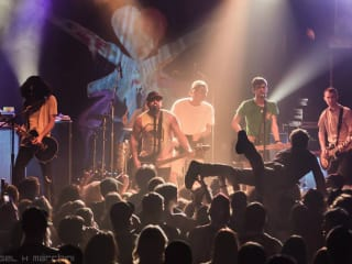Man Overboard performing during Heart Attack Tour