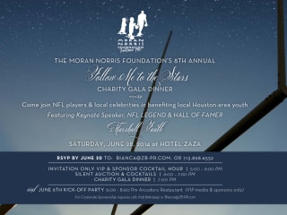 "The Moran Norris Foundation's Eighth Annual ""Follow Me to the Stars"" Charity Gala Dinner"