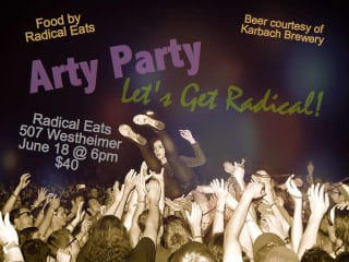 """""""The Arty Party"""" benefiting Southwest Alternative Media Project"""