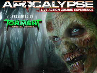 poster for House of Torment zombie apocalypse