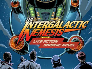 book cover image of The Intergalactic Nemesis comic book graphic novel