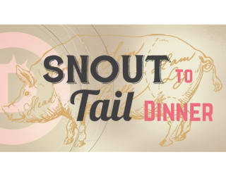 """Snout To Tail"" Dinner at Hotel Derek"