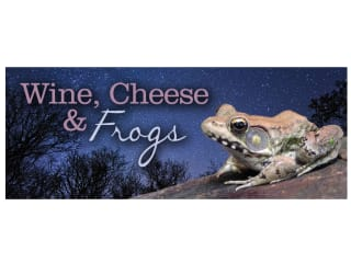 """Arboretum at Night: """"Wine, Cheese and Frogs"""""""