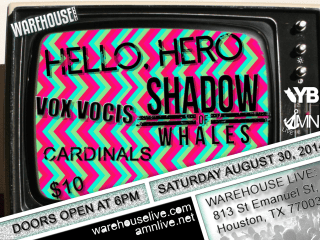 Hello, Hero in concert with Shadow Of Whales, Vox Vocis and Cardinals