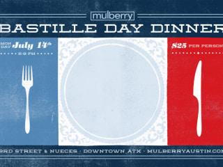 Bastille Day Dinner at Mulberry