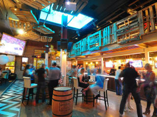 interior event space bar The Market in Austin