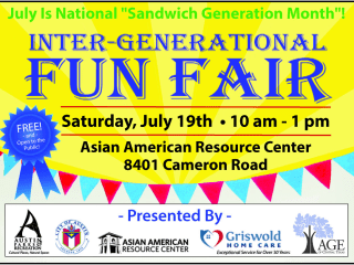 poster for Inter-generational fun fair